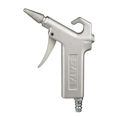 sata-sata-blow-gun-with-low-noise-metal-nozzle-and-quick-coupling-nipple-blow-g